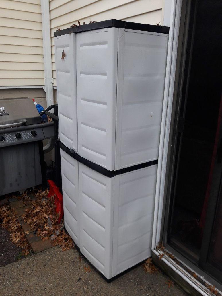 Patio Storage closet