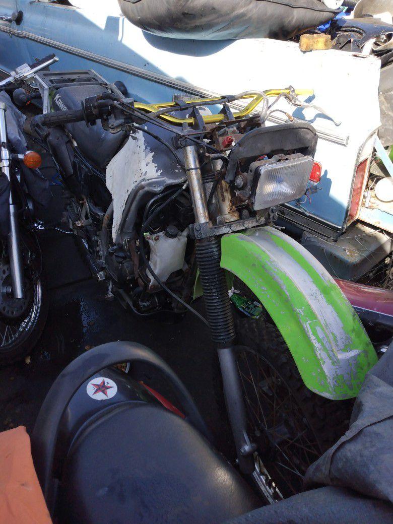 2005 Kawasaki Klr 650