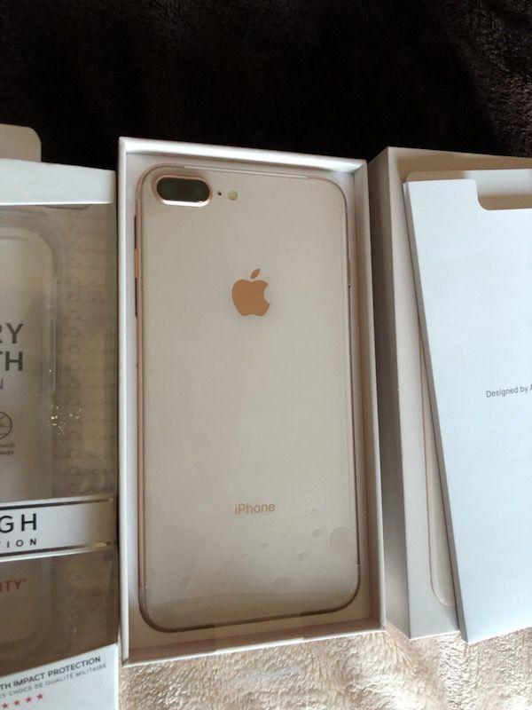 iPhone 8 plus 64gb gold. Verizon