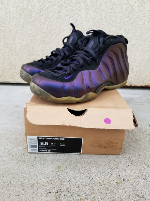ff4c99f0537 Nike Air Foamposite one Eggplant Penny Hardaway for Sale in Antioch ...
