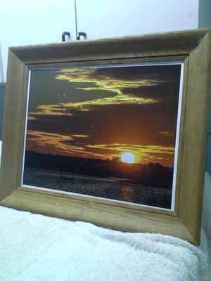 Original photography by Jhew Photography - Lake Apopka sunset 24.5 x 20.5 for Sale in Apopka, FL