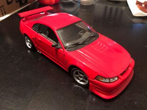 1:18 scale 2000 Ford Mustang SVT Cobra R Maisto red for Sale in Ranson, WV