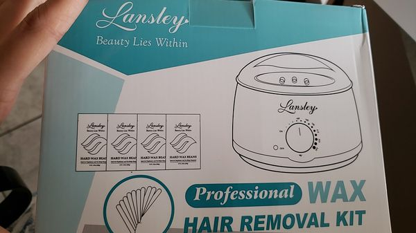 Lansley Wax Warmer Hair Removal Kit For Sale In Hudson Fl Offerup