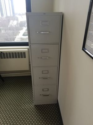 Office cabinets and 2 chairs for Sale in Chicago, IL