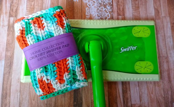 Handmade Crochet Reusable Swiffer Sweeper Pad For Sale In Knoxville