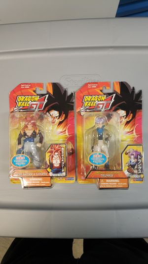 DRAGON BALL GT ACTION FIGURES for Sale in Deltona, FL