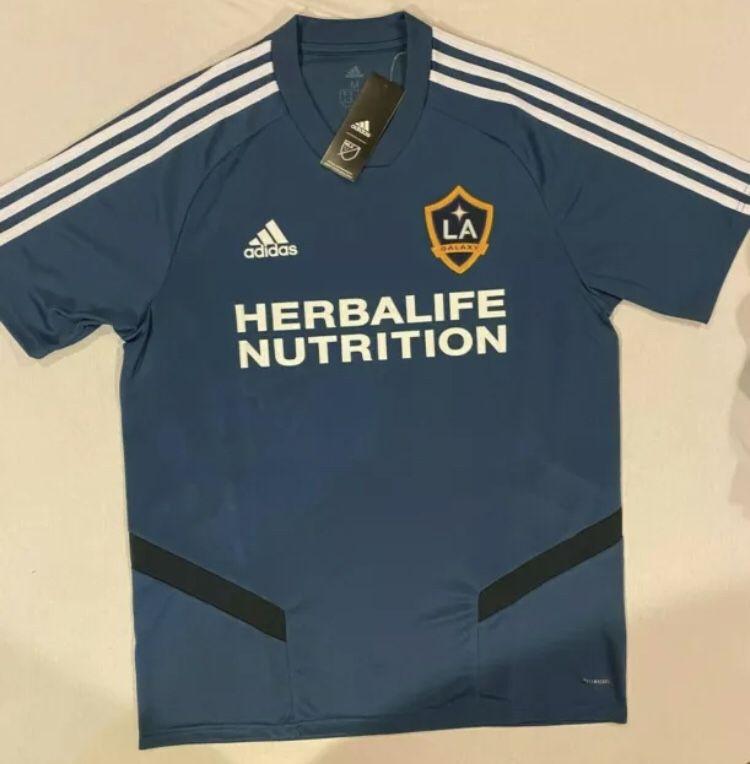 Adidas MLS LA Galaxy Soccer Jersey Mens Size Medium Brand New With Tags