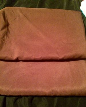 2 brown tablecloths for Sale in Manassas, VA