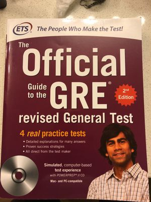 GRE Guide with unopened testing CD for Sale in Fairfax, VA