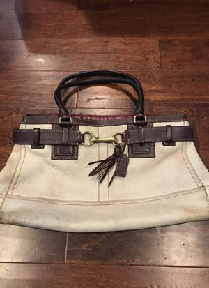 Leather Coach Handbag for Sale in Renton, WA