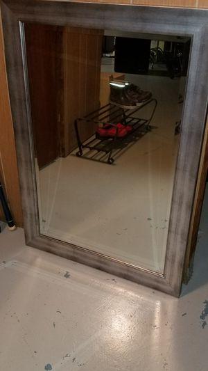 Silver Matte Mirror for Sale in Arlington, VA
