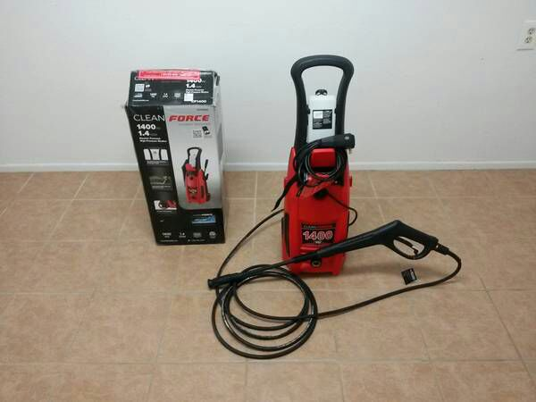 Cleanforce 1400 Psi 1 4 Gpm Electric Pressure Washer