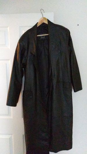 Leather coat for Sale in Abingdon, MD