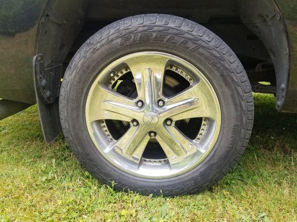 20in Foose Wheels And Pirelli Tires Auto Parts In Auburn WA