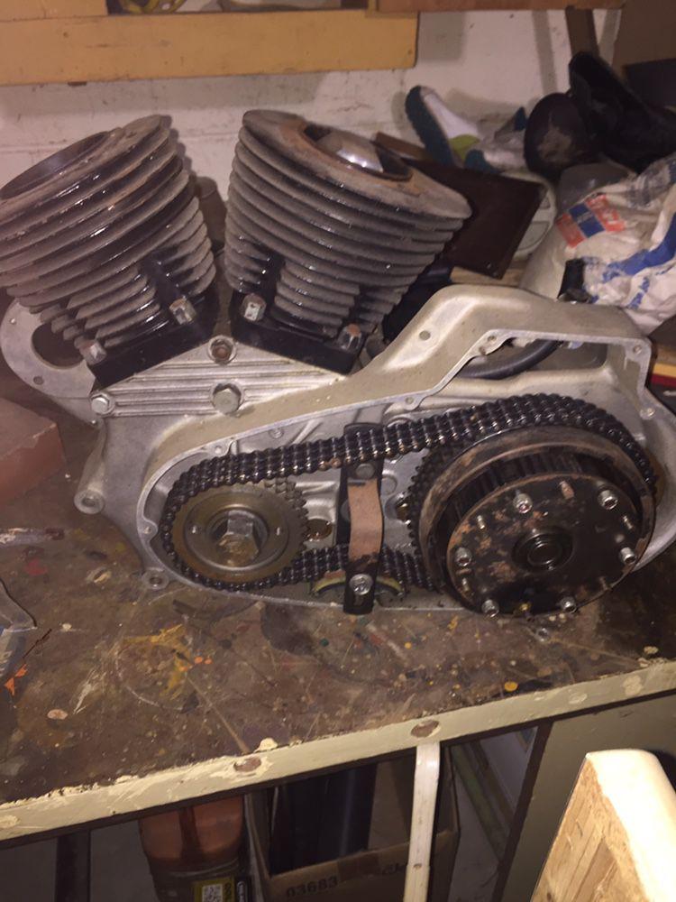Photo Rebuilt Engine For 70 HD Sportster 1000