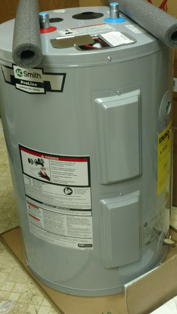 Brand New 30 Gallon Electric Water Heater Lowboy Style Pending For