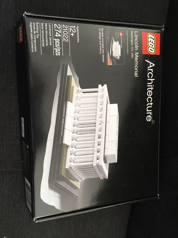 Lego Architecture Lincoln Memorial Item 21022 For Sale In Round Lake