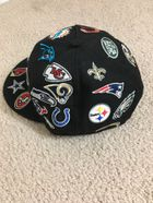 a2f127b30 NFL New Era Black All Over 59FIFTY Fitted Hat for Sale in Hamden, CT -  OfferUp