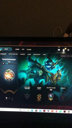 Level 28 league account Thumbnail