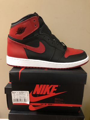 "Jordan Retro 1 ""banned"" size 7 for Sale in Manassas, VA"