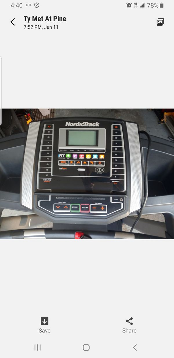 NordicTrack Treadmill T6.5s For Sale In Groesbeck, OH