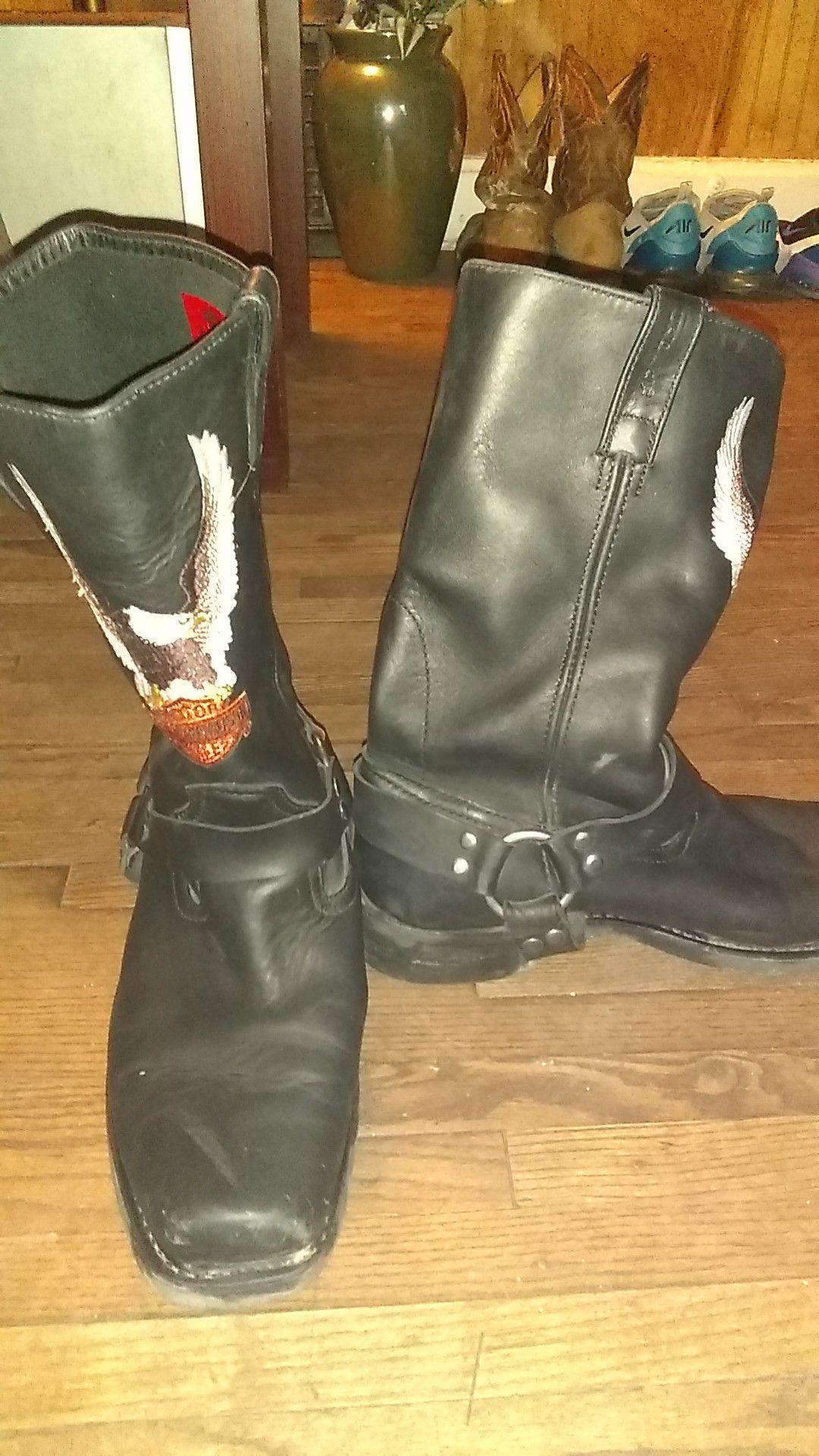 Photo Mens Harley Davidson boots