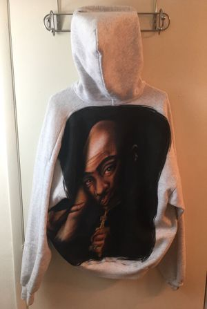 Tupac Hanes Hoodie Size Large Men's for Sale in Saint Charles, MO