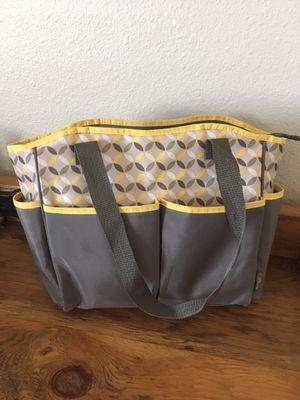 Photo Yellow Grey Diaper Bag