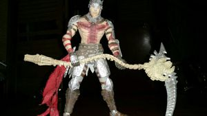 Dantes Inferno Action Figure Collectible for Sale in Orlando, FL