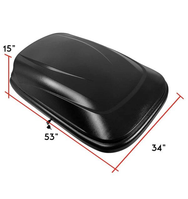 Waterproof Car Top Cargo Carrier Vehicle Roof Mount Travel