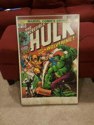Vintage marvel comic book cover portraits for Sale in Chantilly, VA