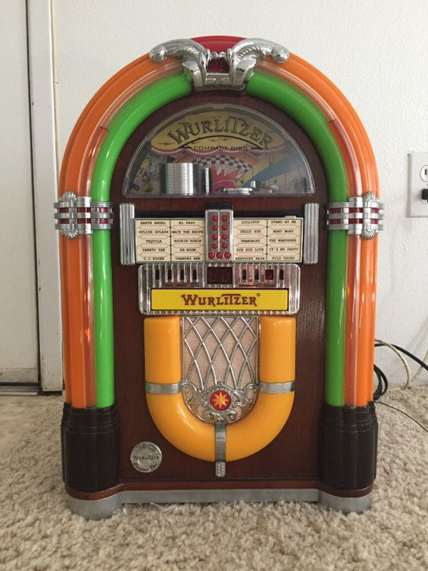 "Vintage Wurlitzer WR18 Real 1015 Mini ""Bubbler"" Juke Box FM/CD for Sale in  Ewa Beach, HI - OfferUp"