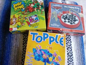 Lot Of 3 Kids Games for Sale in Claysville, PA