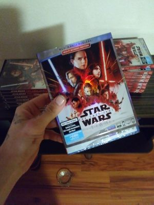 All new star wars last jedi blue ray for Sale in Columbus, OH