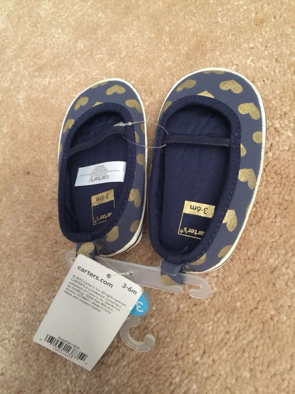 c661e18eefb Carters Baby Girl s Shoes Size 3-6 Months for Sale in San Jose