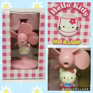 Photo NEW Hello Kitty Fan & Lanp