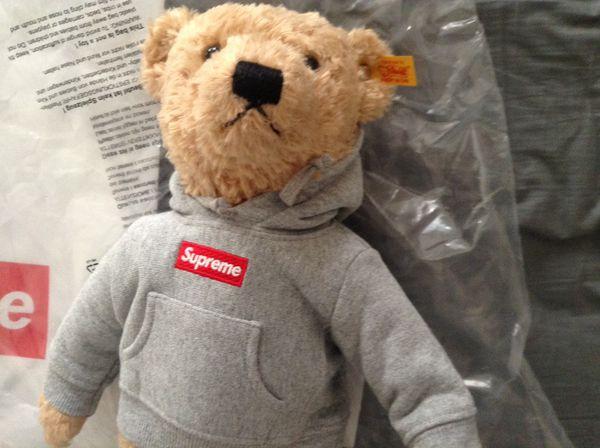 Supreme X Steiff Teddy Bear Goldbraun For Sale In Fontana, CA