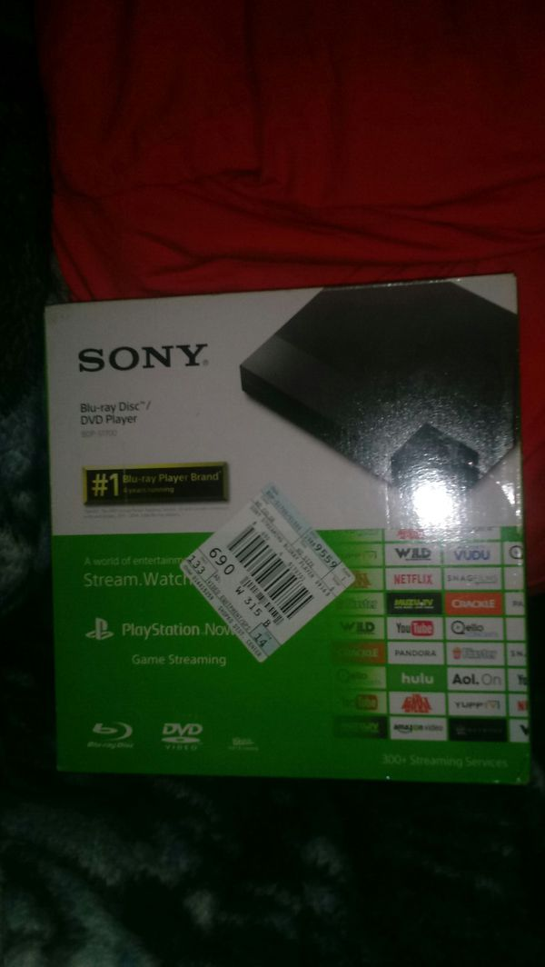 Sony Blu-Ray Region Free Dvd Player w/streaming for Sale in Fort Mitchell,  KY - OfferUp