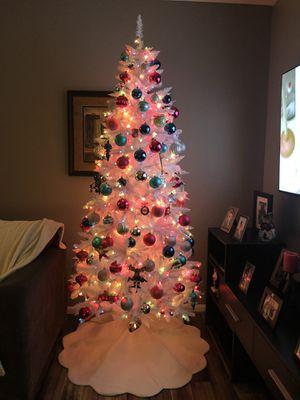 8 foot white Christmas tree for Sale in Ashburn, VA