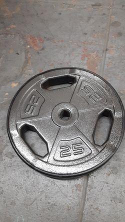 Single 25lbs plate Thumbnail