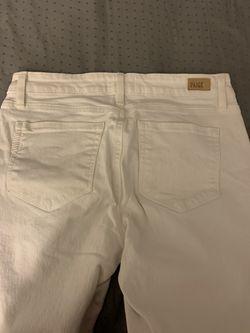 Paige Denim White Jeans Thumbnail