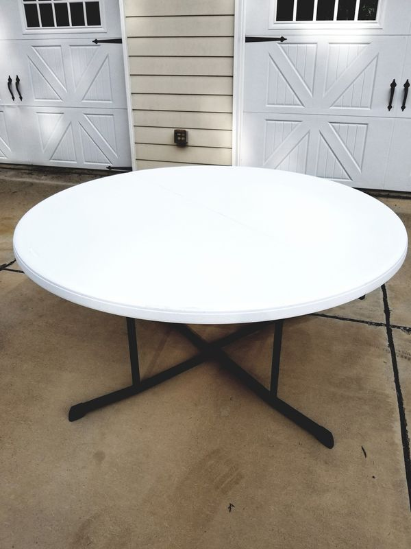 Phenomenal 5 Ft Round Folding Tables For Sale In Memphis Tn Offerup Download Free Architecture Designs Grimeyleaguecom