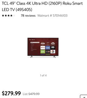New and Used Tcl roku tv for Sale in Rancho Cucamonga, CA - OfferUp