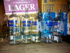 * EMPTY LIQUOR BOTTLES ABSOLUT & many more * for Sale in Washington, DC