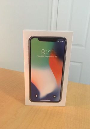 Brand New IPhone X (Unlocked, Never Used) for Sale in Bowie, MD