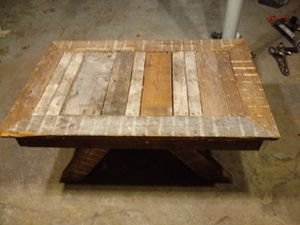 Indoor Outdoor Bench For Sale In Chicago IL OfferUp - Reclaimed wood coffee table chicago