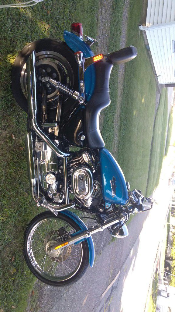 Photo 01 1200 H.D. Sportster.. Nice bike, Recently had oil changed,. Ready to Ride.. Clear title, And ready for new home..!! $4200.00 firm..