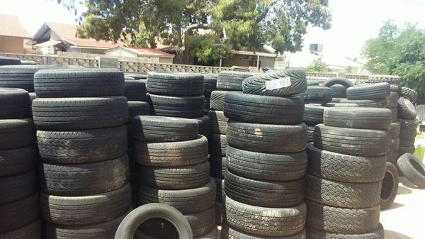 Used Tires Phoenix >> Lot Of Used Tires Over 500 Used 15s Tru 20s Used Tires For Sale In Phoenix Az Offerup
