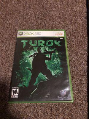 Turok XBOX 360 for Sale in Kirkland, WA