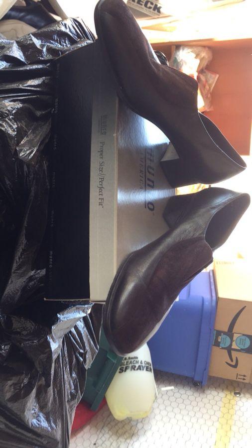 Zapato de caballero antiguo muy buenas condiciones $60 oh mejor oferta...